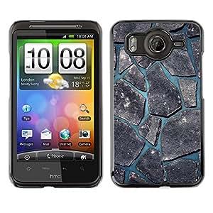 TECHCASE**Cubierta de la caja de protección la piel dura para el ** HTC G10 ** Minimalist Beautiful Nature Cobblestone