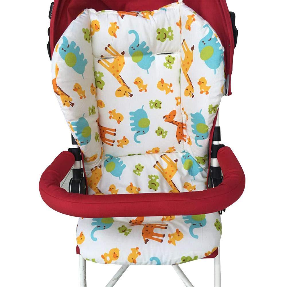 Accesorios del Cochecito Coj/ín C/ómodo Respirable del Ni/ño longrep Beb/é Coj/ín Silla de Paseo Baby Cochecito Trona Asiento de Coche Pel/ícula Protectora Pad para sillas de Seguridad Coj/ín Trona
