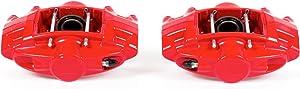 Power Stop S6182 Performance Powder Coated Brake Caliper Set For Infiniti, Nissan