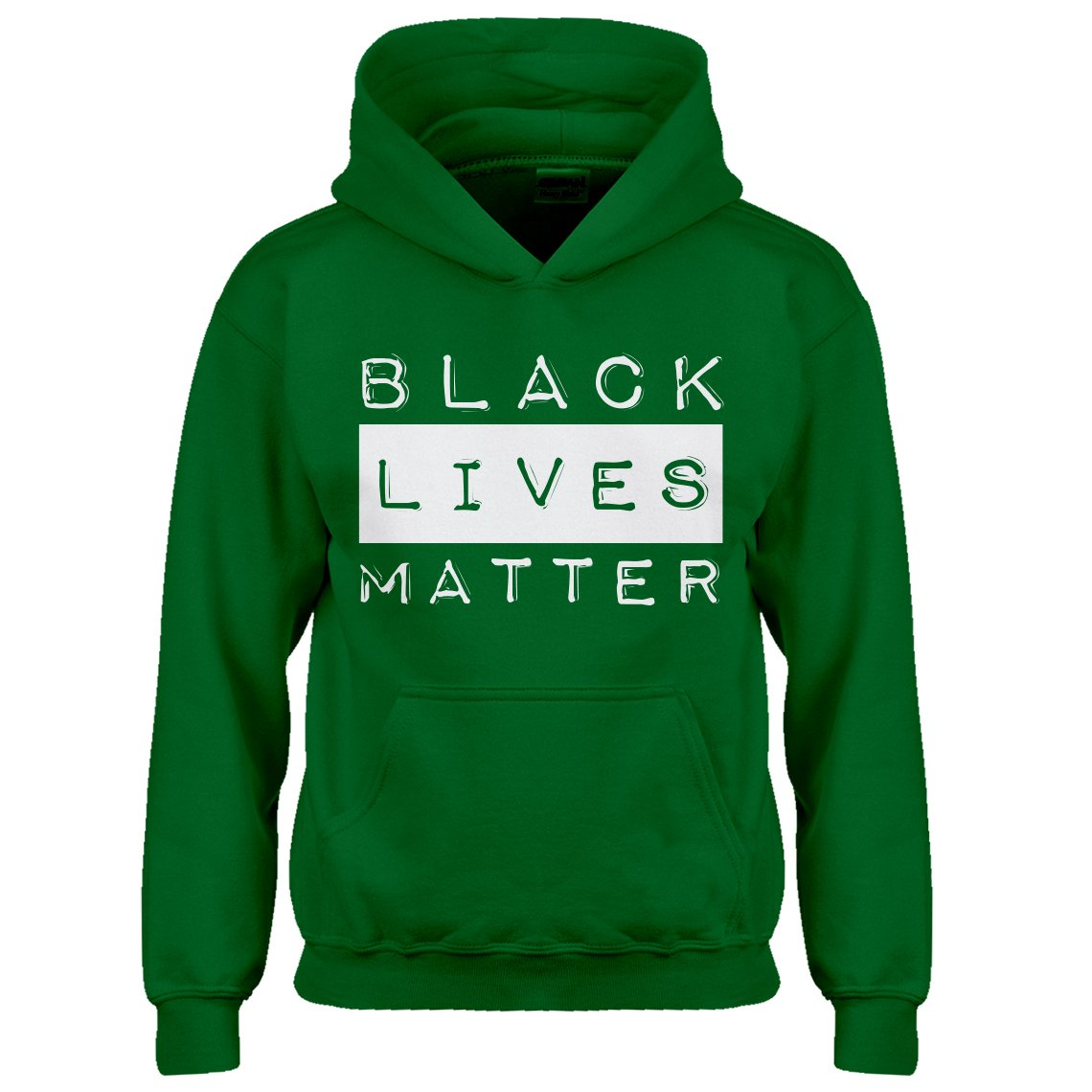 Indica Plateau Youth Black Lives Matter Activism Kids Hoodie 3244-Z