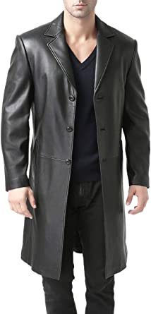 BGSD Men's Waterproof Classic Single Breasted Trench Coat for Men with Removable Liner