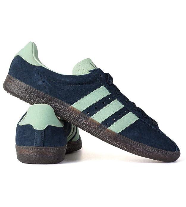adidas Herren Padiham Spezial Hohe Sneaker Blau Navy Blue