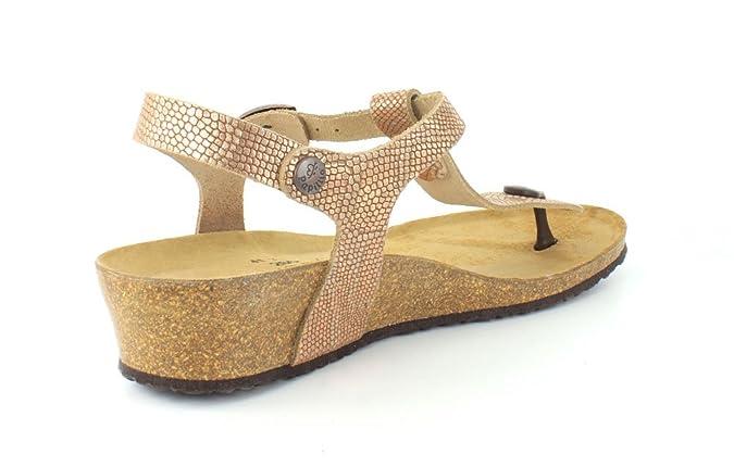 02af6d7a7bb Birkenstock Women s Ashley Royal Python Brown Leather Sandal 36 (US Women s  5-5.5) Narrow  Amazon.co.uk  Shoes   Bags