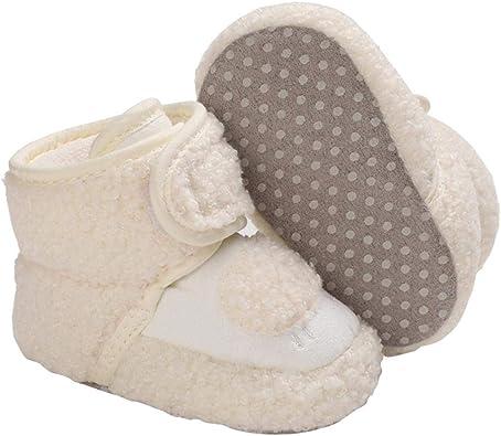Chaussure B/éb/é Fille Garcon Automne Hiver Chaud Douce 3 6 12 18 Mois Chaussure Premier Pas B/éb/é Naissance Baskets Enfant Fille Garcon Chausssons Bebe