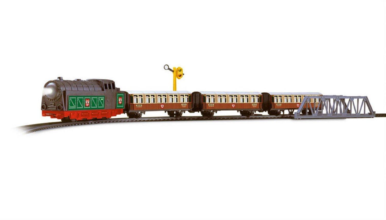 train lectrique en m tal avec wagons de locomotives trans sib riens l gers et accessoires 450. Black Bedroom Furniture Sets. Home Design Ideas