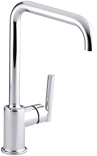Kohler K 7507 Cp Purist Primary Swing Spout Kitchen Faucet Without