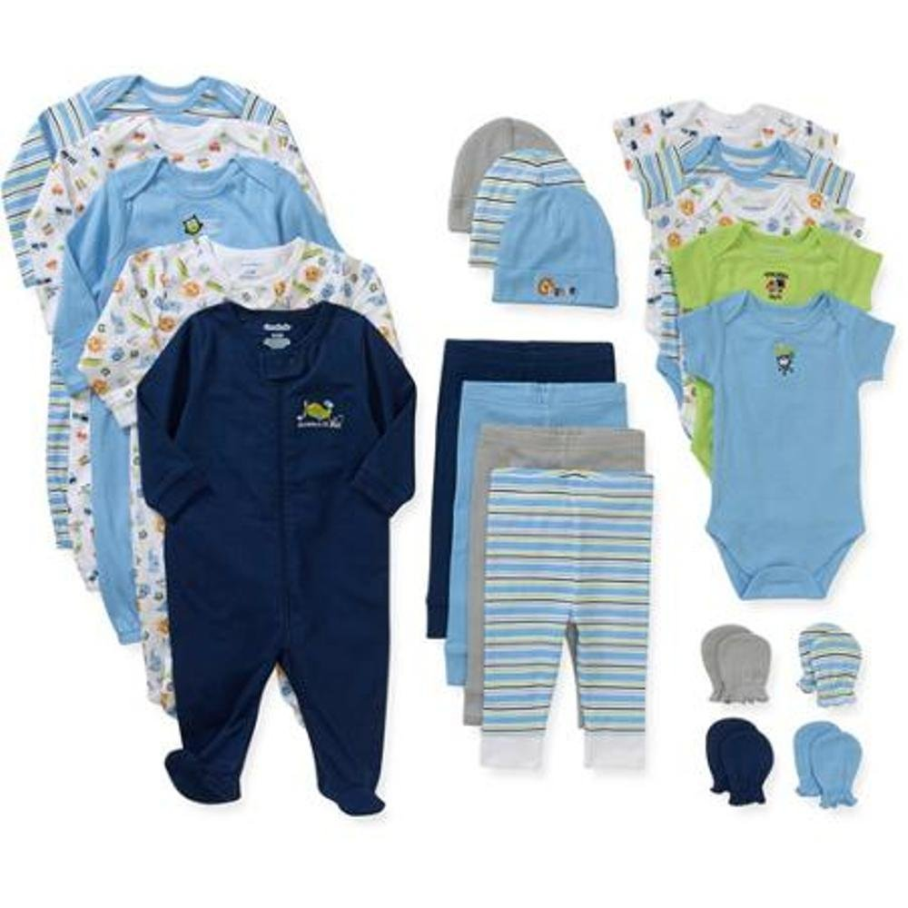 Amazon.com: Garanimals Newborn Boy 21 Pc Layette Set (0 3 Months): Baby