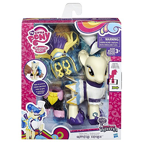 My Little Pony Explore Equestria 6 Inch Fashion Style Set