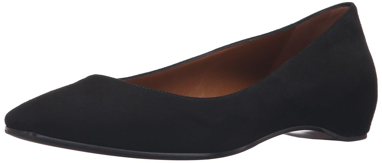 Aquatalia Women's Marcella Suede Flat B01D0IBFGG 8.5 B(M) US|Black
