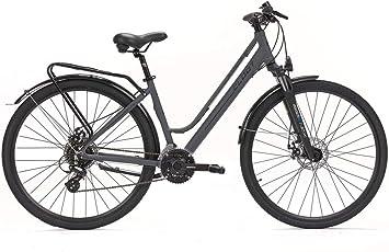 CLOOT Bicicleta hibrida Adventure Disc Shimano 24V con Horquilla ...