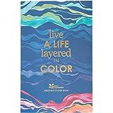 Erin Condren Layers Sticker Book - 12 Sticker Sheets (529 Stickers Total) - Colorful Layers Design Theme, Folio Friendly Size