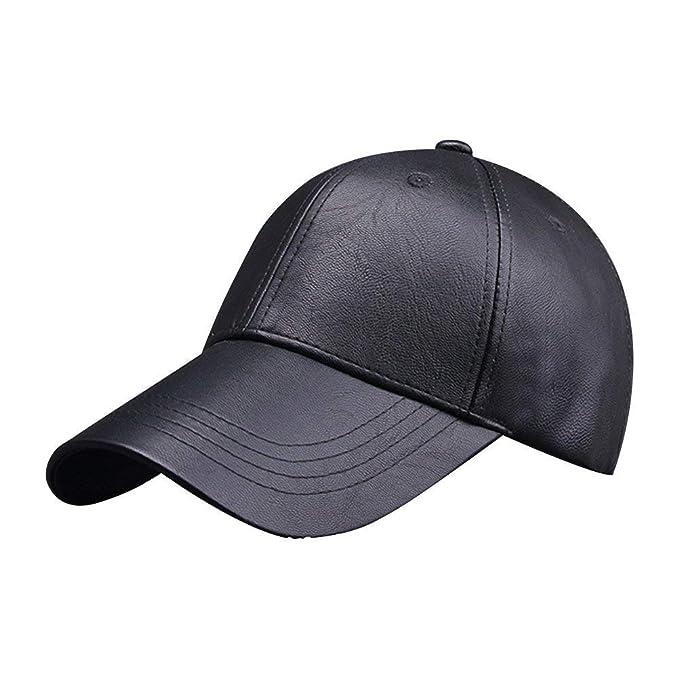Elodiey Gorra De Béisbol para Unisex Hombre Excellent Spring Fall Hat  Outdoors Años 20 Warm Hat 861cf78d20c