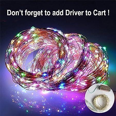 Review LED String Lights 33ft