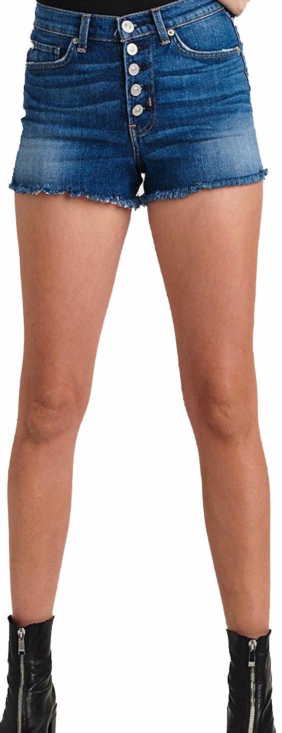 HUDSON Women's Short Zoeey High Rise Jean Shorts Doll WHR604DCX Doll (28)