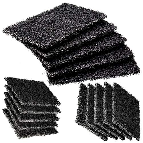- Restaurant-Grade Griddle Cleaning Pads 5 Pack. Use on Metal Grills, Cast Iron Cooktops & Stainless Steel Flat Tops. Quickly Cleans & Scours Baked-On Grease & Carbon. Heavy Duty, 46 Grit Scouring Pads.