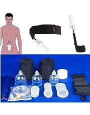 JSSMATE Penis Enhance Extender physischer Penis-Pumpen Enlarger Stretcher, Penis-Erweiterung Spannung Übung Gerät (1 Set)
