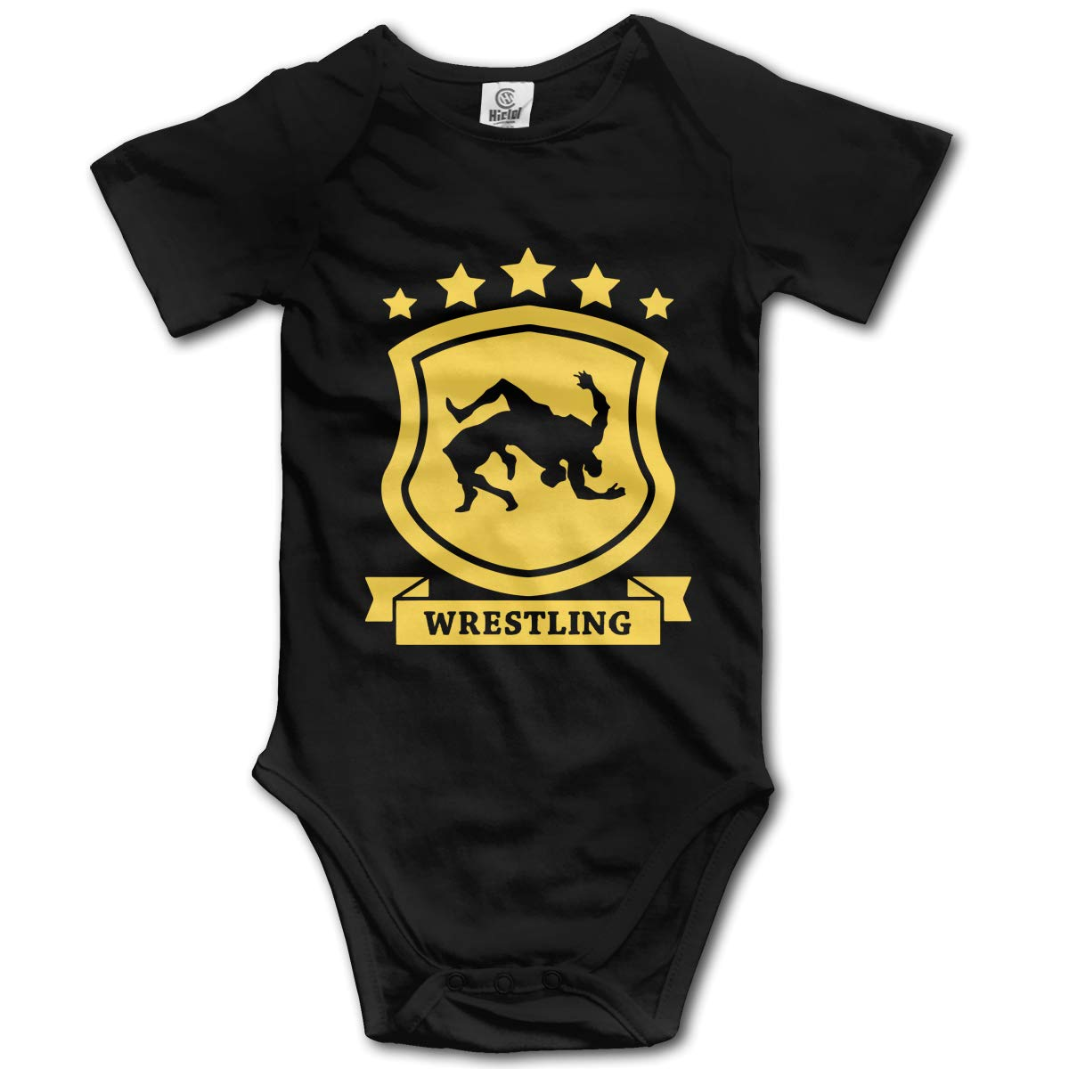 J122 Wrestling 1 Suit 6-24 Months Baby Short Sleeve Climbing Clothes