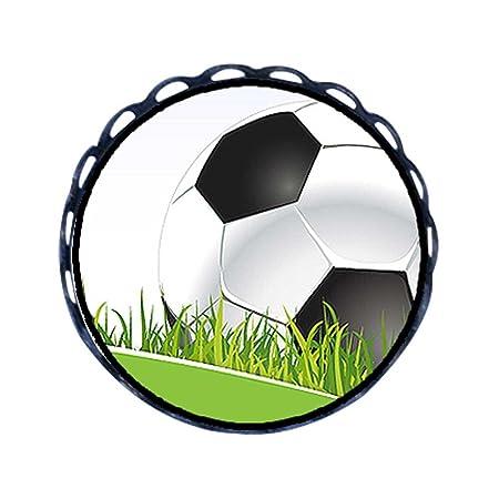 GiftJewelryShop Ancient estilo UEFA Euro balón de fútbol sobre el ...