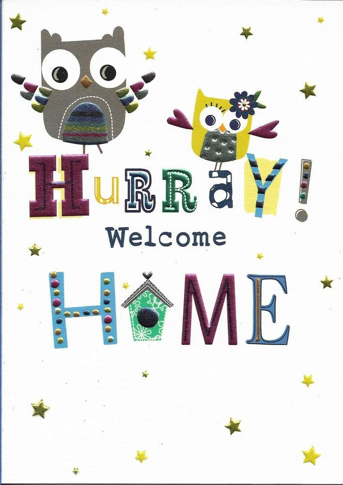 Diuangfoong WELCOME HOME GREETING CARD 6