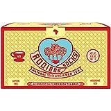 Rooibos Tea Organic Tagless Teabags - 40 South African Red Bush Herbal Tea, By Rooibos Rocks (40 Teabags)