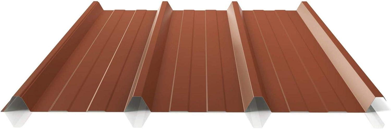 St/ärke 0,45 mm Trapezblech Profil PS45//1000TR Farbe Chromoxidgr/ün Material Stahl Profilblech Beschichtung 25 /µm Dachblech