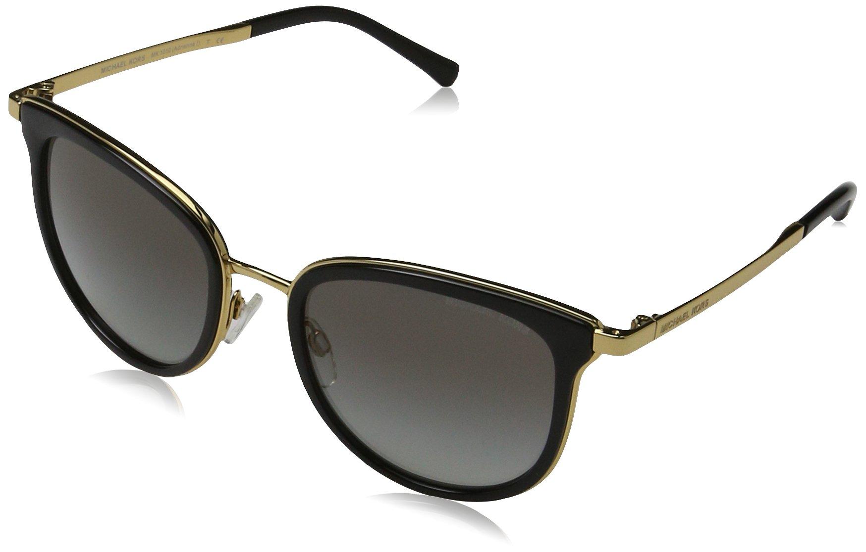 Michael Kors Women's Adrianna I MK1010 Black/Gold Sunglasses by Michael Kors (Image #1)