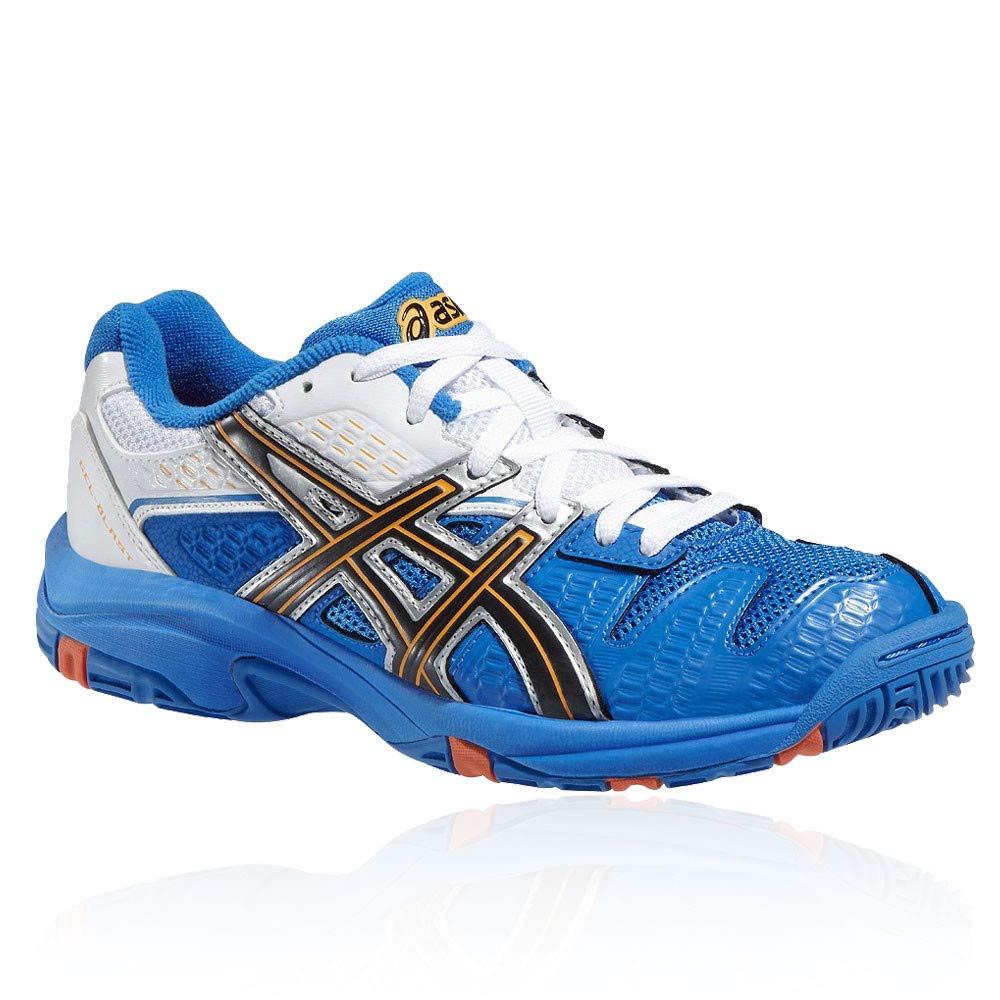Asics Chaussures de sport en salle pour garçon Bleu/blanc