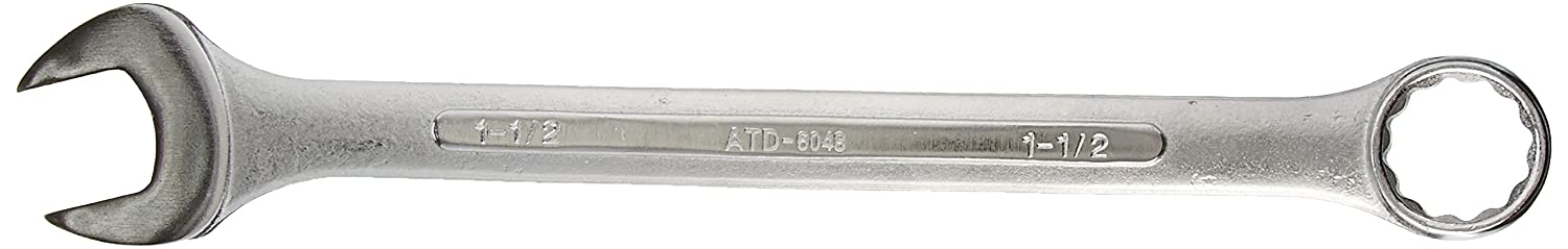 ATD Tools 6048 1-1/2' x 17-7/8' 12-Point Fractional Raised Panel Combination Wrench