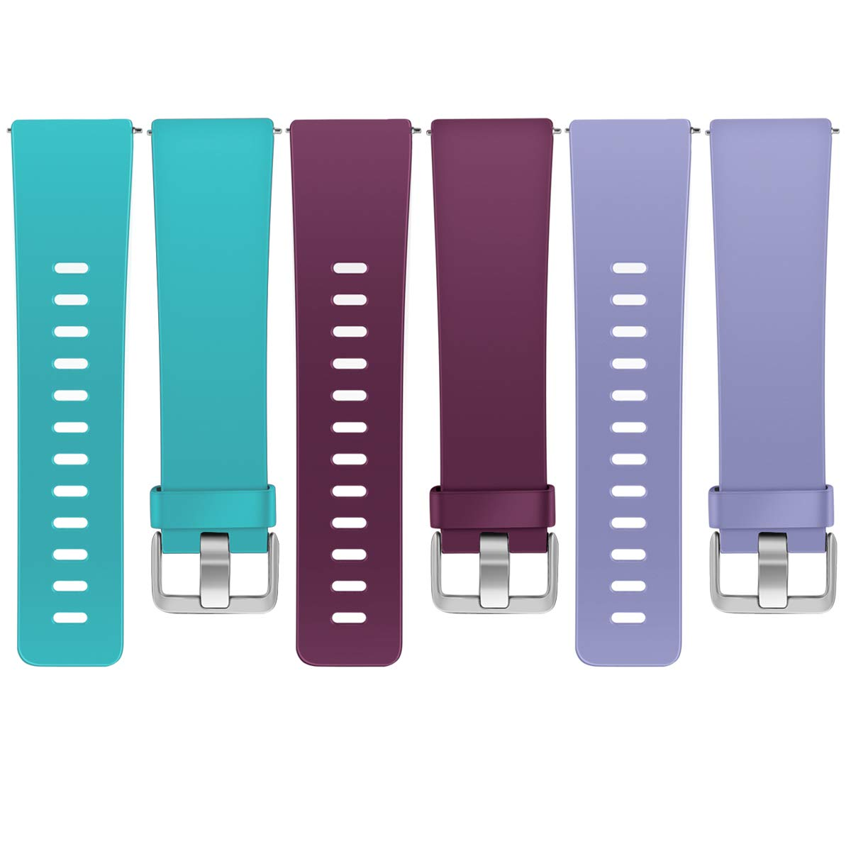 Maledan Replacement Bands for Fitbit Versa Women Men Small Large