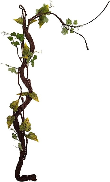 Beautiful Decorative Artificial Trees Long Soft Plastic Dried Tree Branch Plant Wedding Home House Decor Simulation Spiral Vine 140cm Home Kitchen