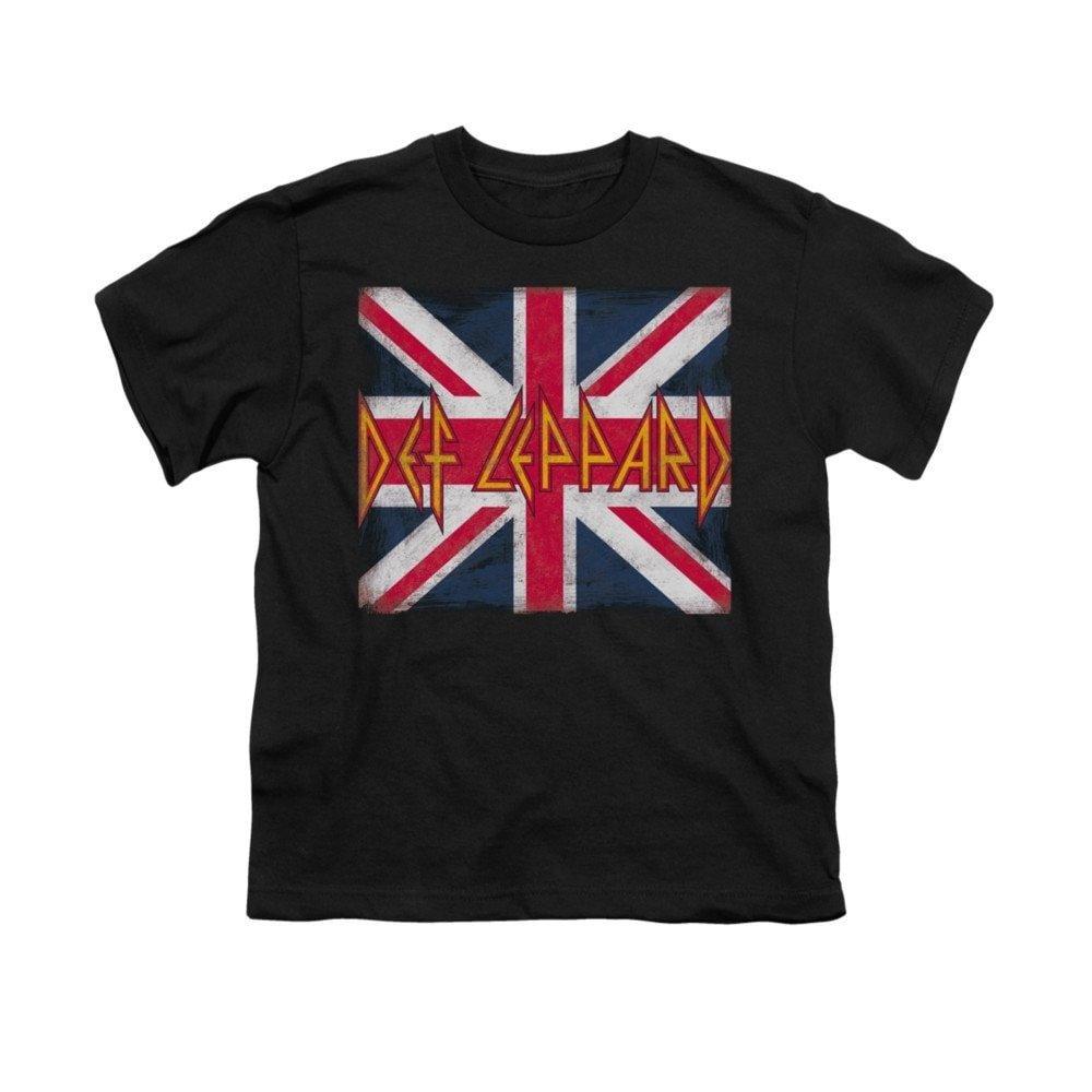 Def Leppard Union Jack Youth T-Shirt