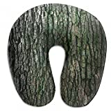 Raglan Carnegie Vintage Old Wood U Shaped Pillow Neck Head Cushion Support Rest Outdoors Car Office Home Travel Pillow