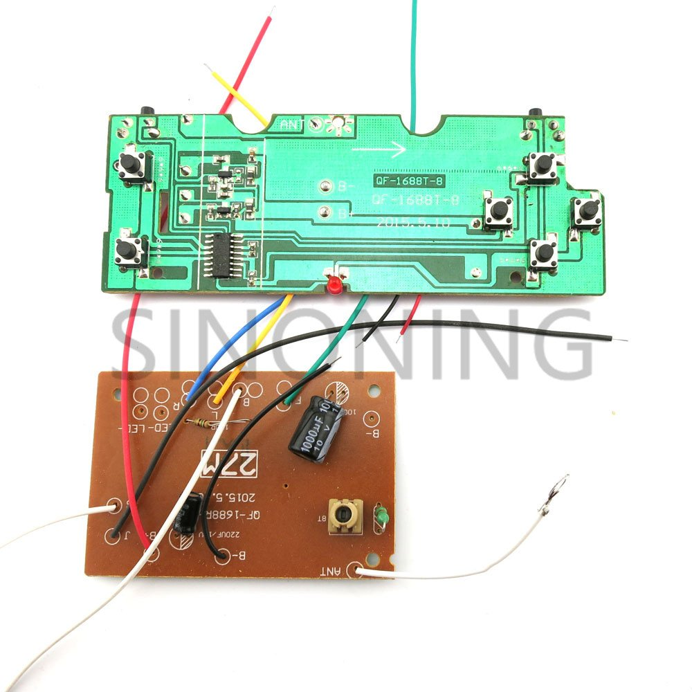 Buy Generic Economy 6ch Remote Control Unit Circuit Board 27mhz Pcb 101 How To Build A Radio Module For Diy Car Tank Ship Snrm16 Online At Low Prices In India