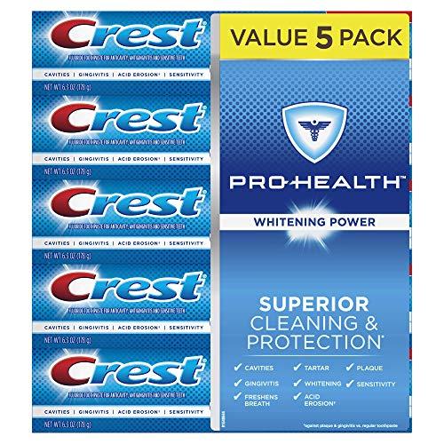 Crest Pro-Health Whitening Power Toothpaste, 5 pk./6.3 oz.