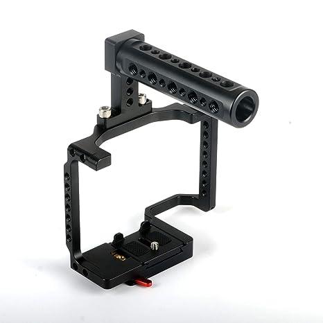 Camera Tripod Estabilizador de cámara en Jaula con Mango for Sony ...
