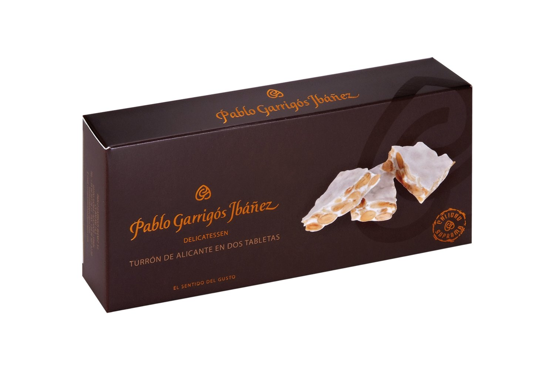 Pablo Garrigós Ibáñez Delicatessen Turron de Alicante (Crunchy Almond Turron) 10.5 oz (300 grams) (Pack of 1) by Pablo Garrigós Ibáñez (Image #1)
