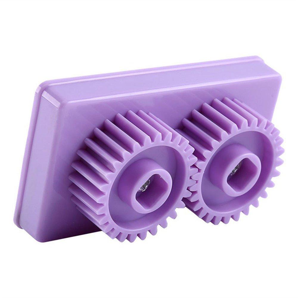 Hand-Operated Quilling Crimper Tool Paper Quilling Crimper Machine Crimping Paper Craft Quilled DIY Art Tool Purple