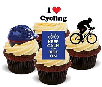 Baking Bling Radfahren Fahrrad Mischung Mix C 12 Essbare Standup
