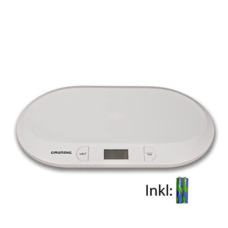 HSM Báscula Digital para bebés kinderwaage para bebés (hasta 20 kg