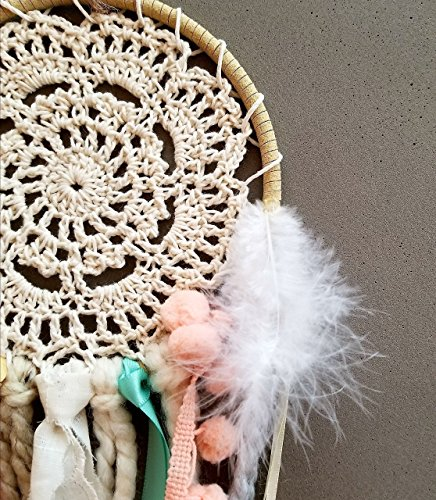 DIY Doily Dream Catcher Kit 5 Inch Wide Make Your Own Craft Project Home Decor Birthday Gift