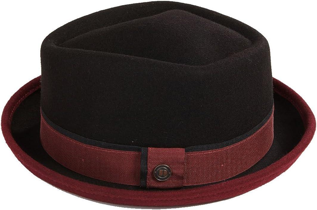 DASMARCA Edward Inverno Cappello di Lana Porkpie