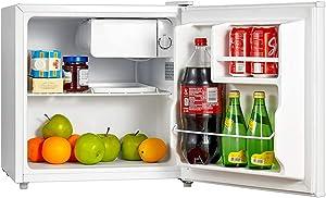 Smad Compact Mini Refrigerator Single Reversible Door Drink Beer Cooler for Office Dorm, 50L 1.6 Cu.Ft