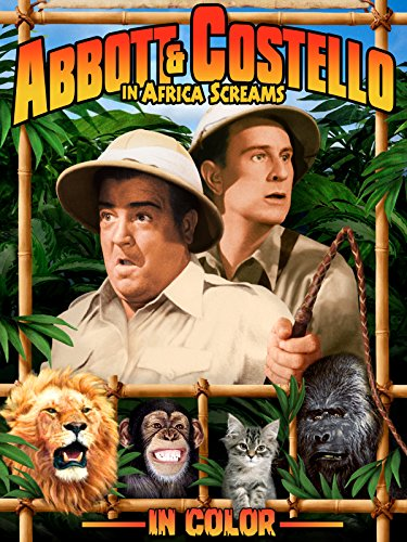 Abbott & Costello in Africa Screams (In Color)