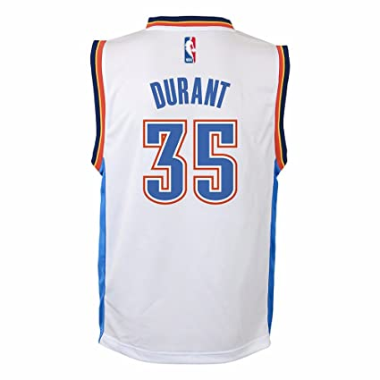 e5de12335 NBA Kevin Durant Oklahoma City Thunder  35 Toddler Replica Home Jersey