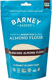 product image for BARNEY Skin-Free Almond Flour, Paleo, KETO, Non-GMO, Peanut-Free, 13 Ounce Resealable Bag (Pack of 6)