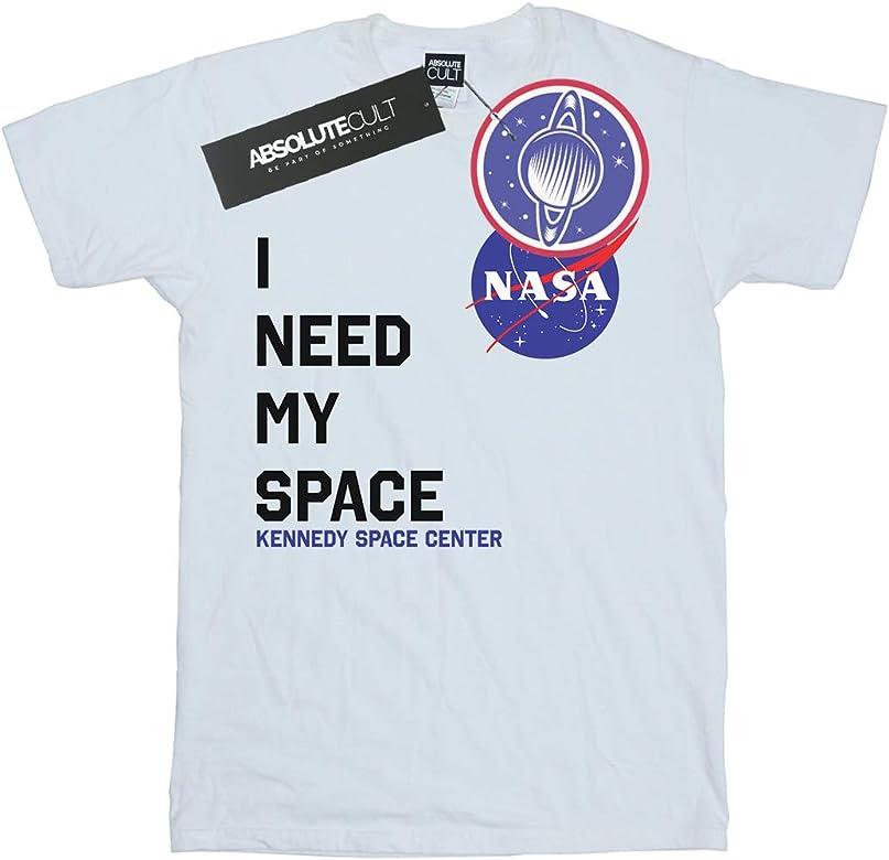 NASA Niños I Need My Space Camiseta Blanco 5-6 Years: Amazon.es: Ropa y accesorios