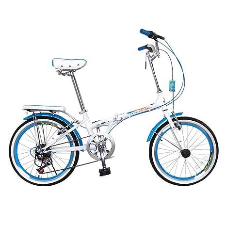 XQ Bicicleta Plegable Adulto Estudiante Cambio De Velocidad 7 20 ...
