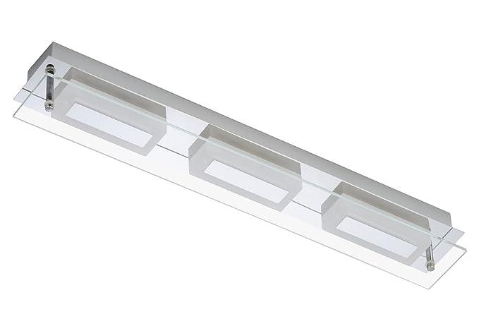 Plafoniera Bagno : Trango tg2262 038 lampada da parete a led per bagno e