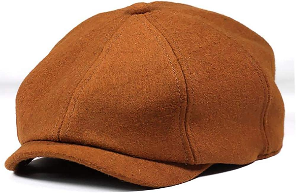 MissFun Mens Newsboy Hat...