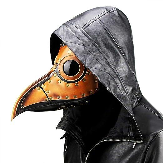 Yuii Plaga de Halloween Dr. Bird Steampunk máscara de Nariz Larga ...